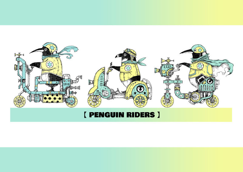 ペンギンライダース
