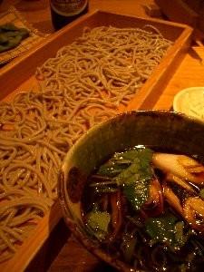 鴨汁蕎麦切り (1050円) / 板蕎麦 香り家 (恵比寿)