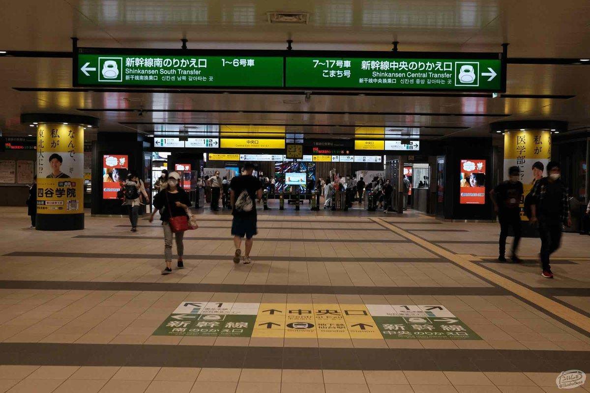 JR仙台駅の自動改札