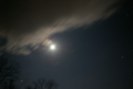 月を撮影 露出20s ISO400