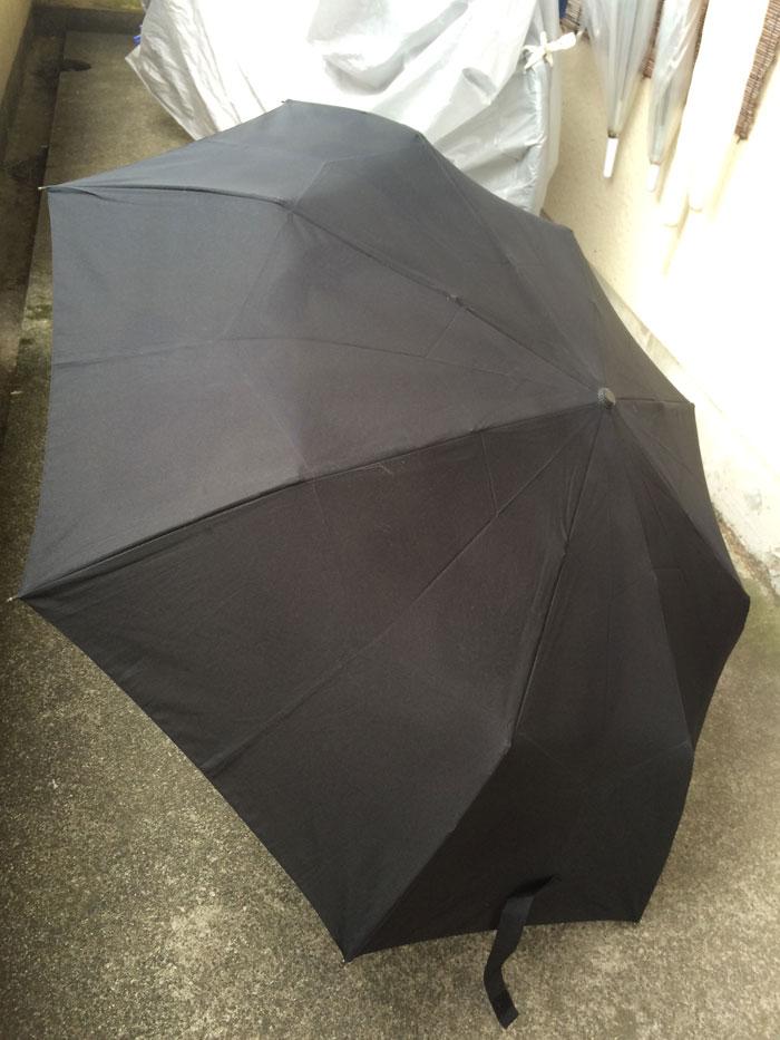 大きくて軽い折りたたみ傘