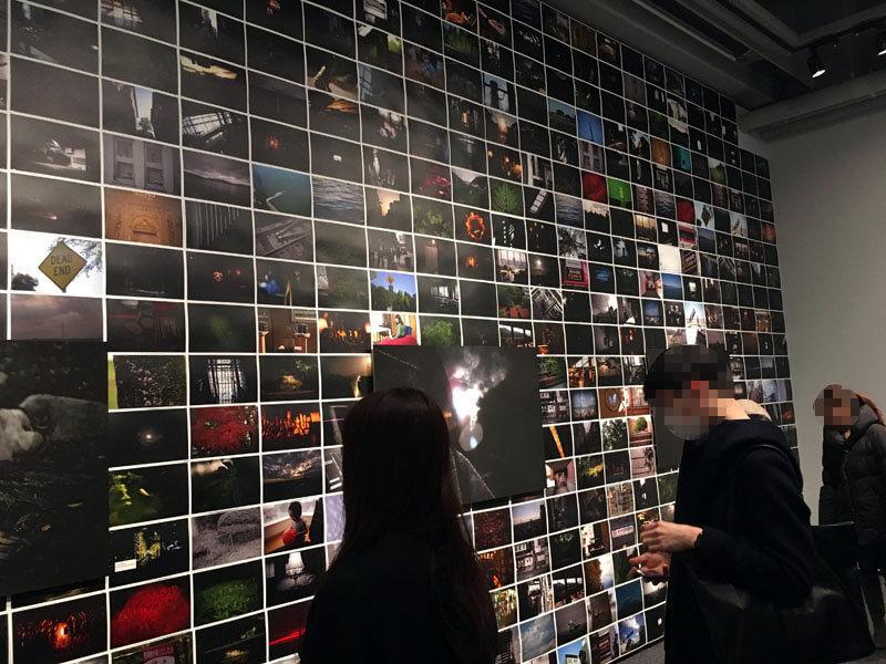 落合陽一写真展「質量への憧憬」が天王洲アイルamana squareで開催されていた