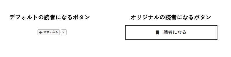 オリジナル読者になるボタン