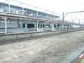 高架化に伴い解体されなうの地上駅ホーム