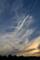平筆でぐりぐりしたような雲が出てた