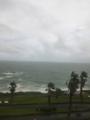 台風並の風