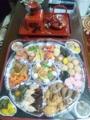 今年のおせちは地元の中華料理店の中華おせち!