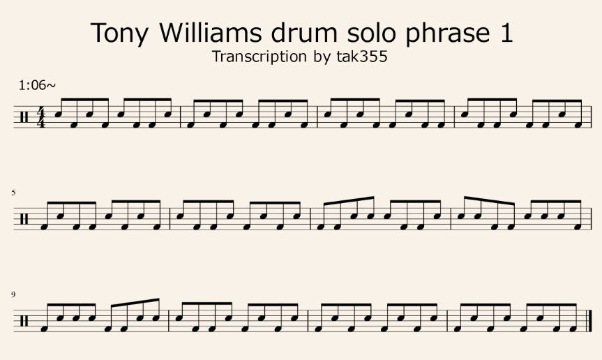 tonywilliams-drumsolo-phrase1