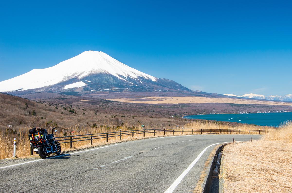 冬の富士五湖巡り&ゆるキャン キャンプツーリング① - 二輪祭