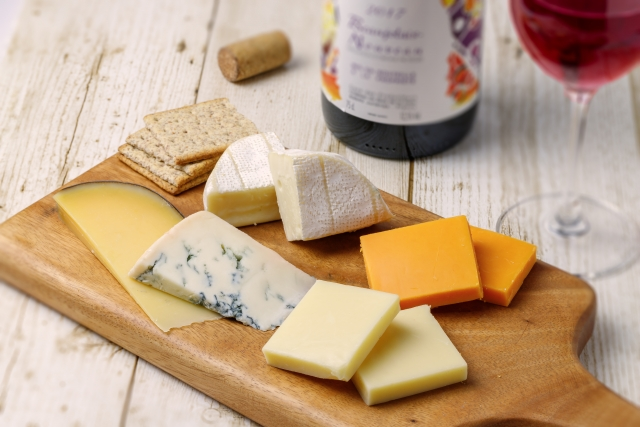 ボジョレー・ヌーボーとチーズ