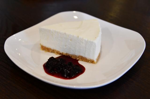 レアチーズケーキ1