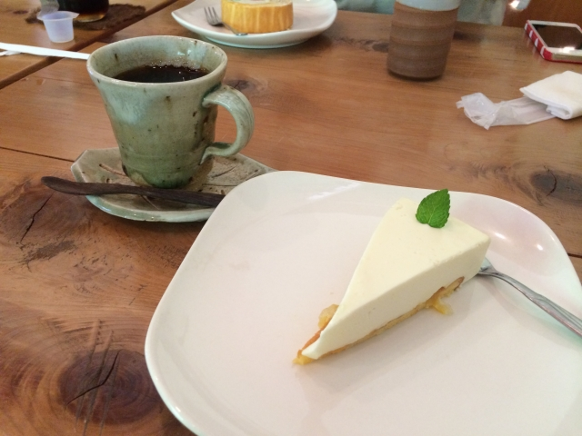 レアチーズケーキ2