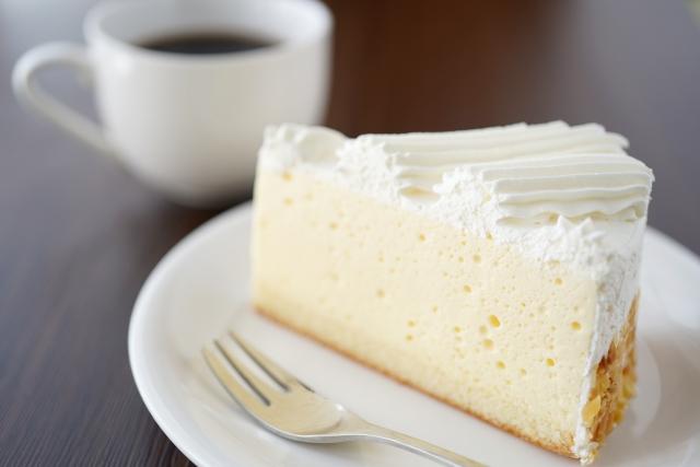 レアチーズケーキ5