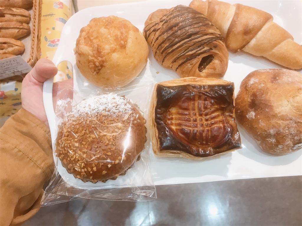 買ったパンたち1