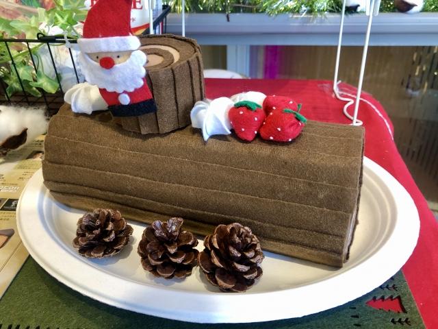 クリスマス飾り付け・クリスマスケーキ