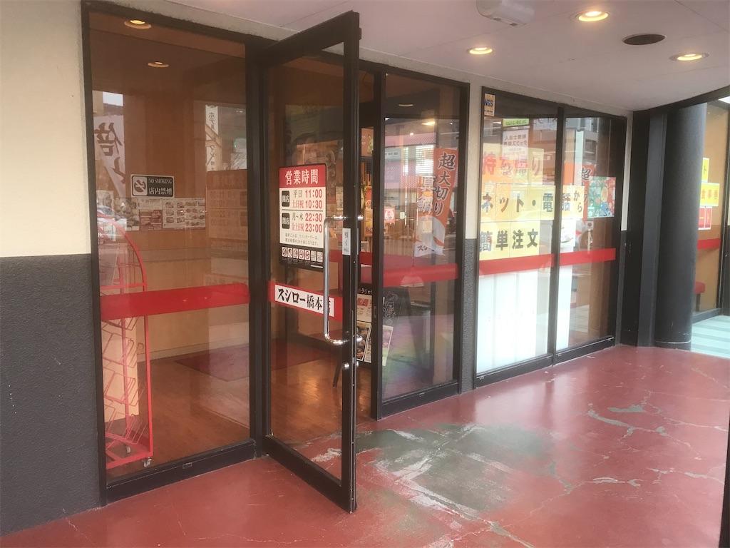スシローの玄関2
