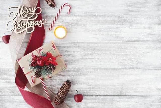 クリスマスのフレーム