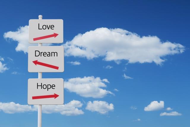 愛・夢・希望の指標