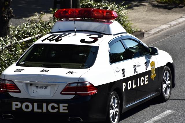 警視庁のパトカー