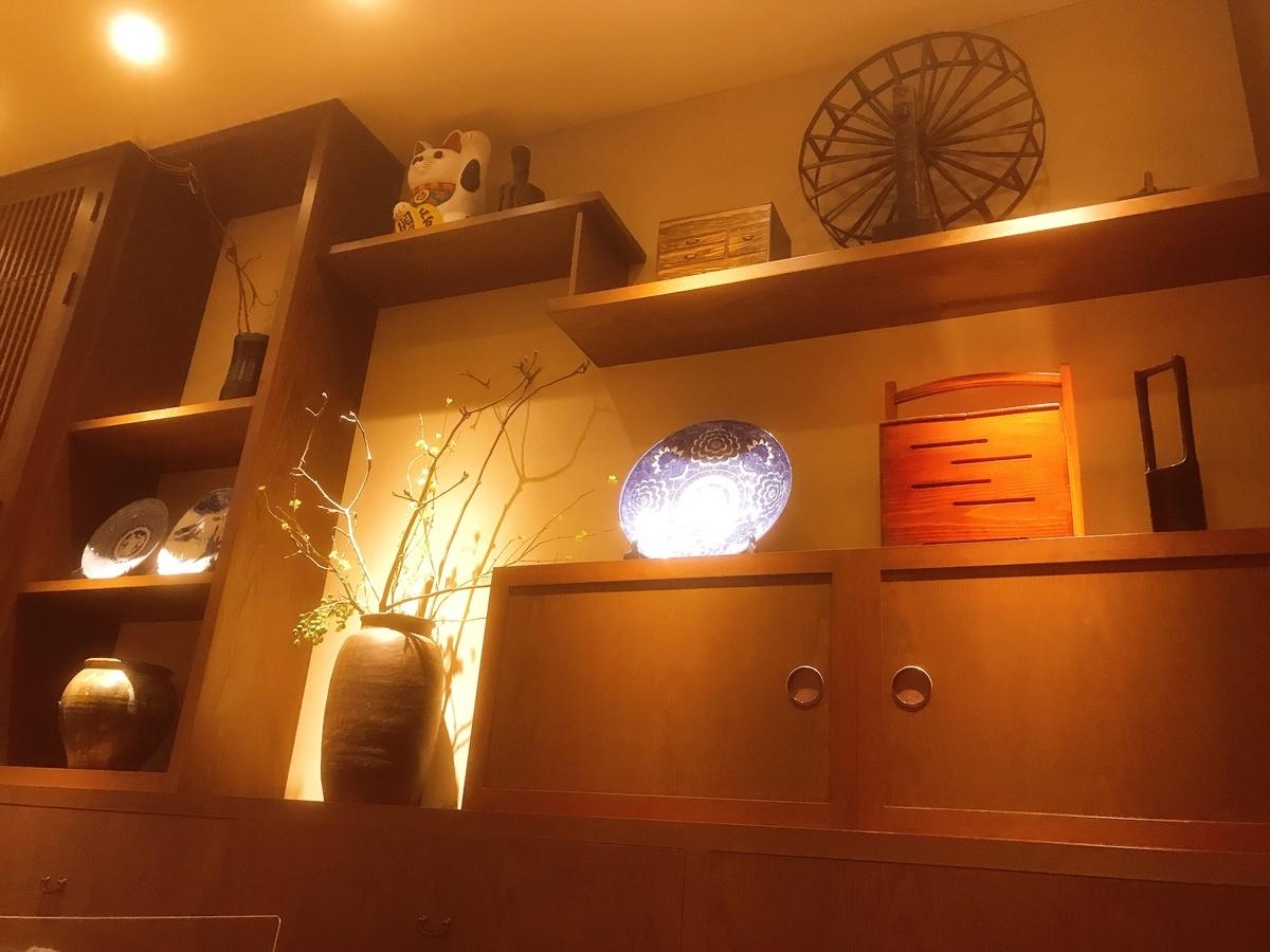 「うちの食堂」の内装