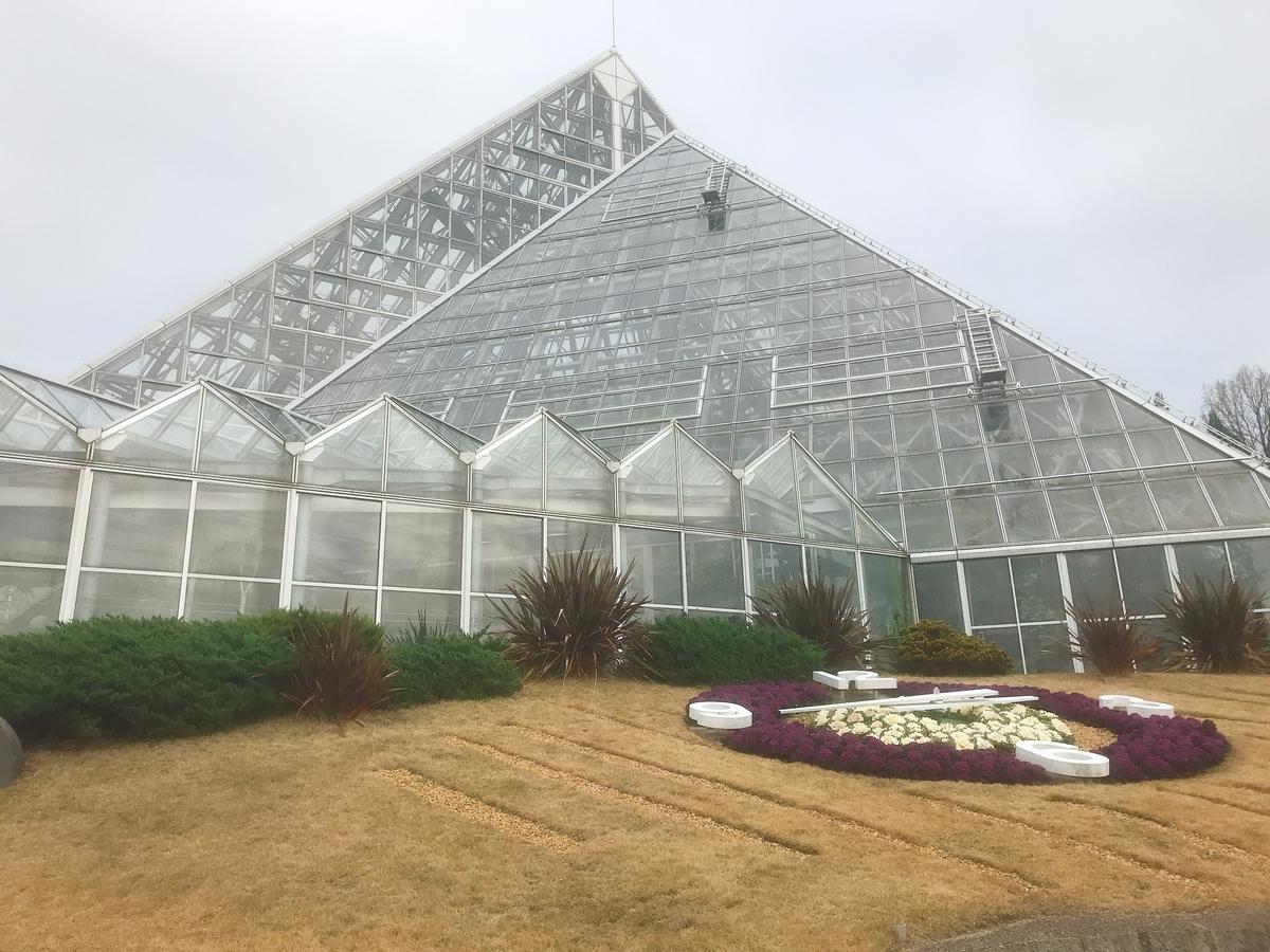 花の文化園の温室