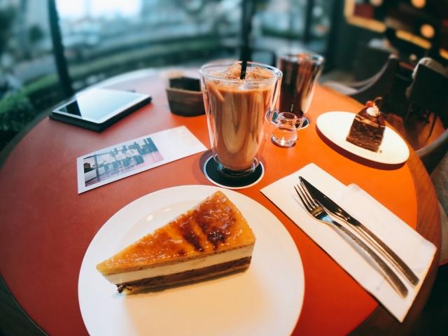 贅沢カフェ空間