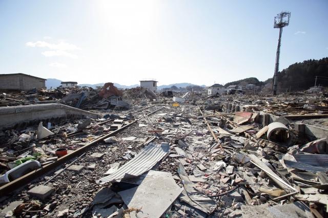 東日本大震災 岩手県 山田町