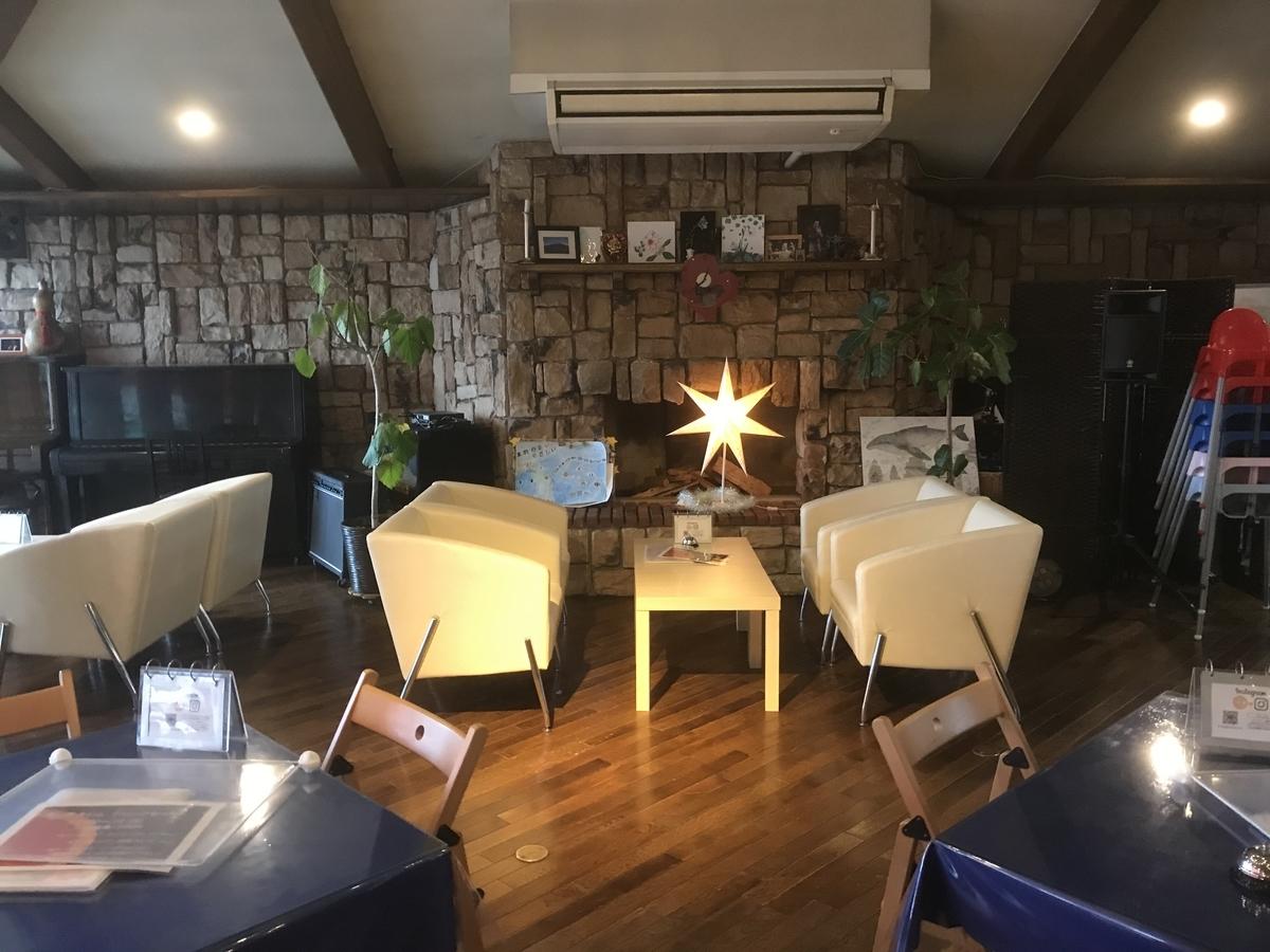 「オレンジ カウンティ Cafe(O・C Cafe)」の店内