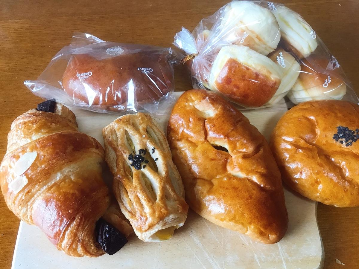 買って来たパンたち!