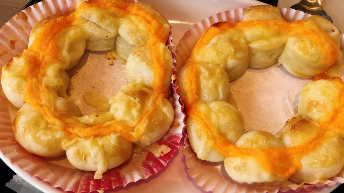 「ポン・デ・ちぎりパン 3種のチーズ」