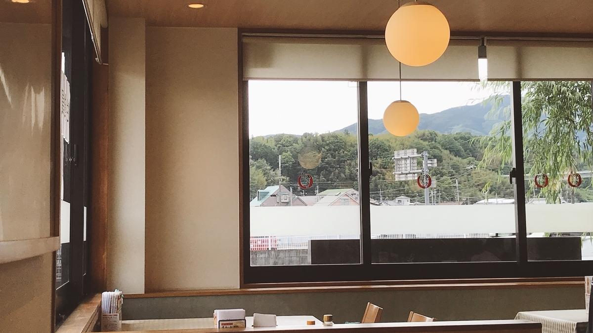 和歌山橋本食堂の店内