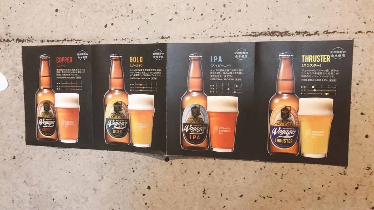 和歌山県田辺市のクラフトビール「Voyager Brewing(ボイジャーブルーイング)」