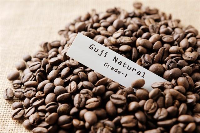 エチオピアのコーヒー豆