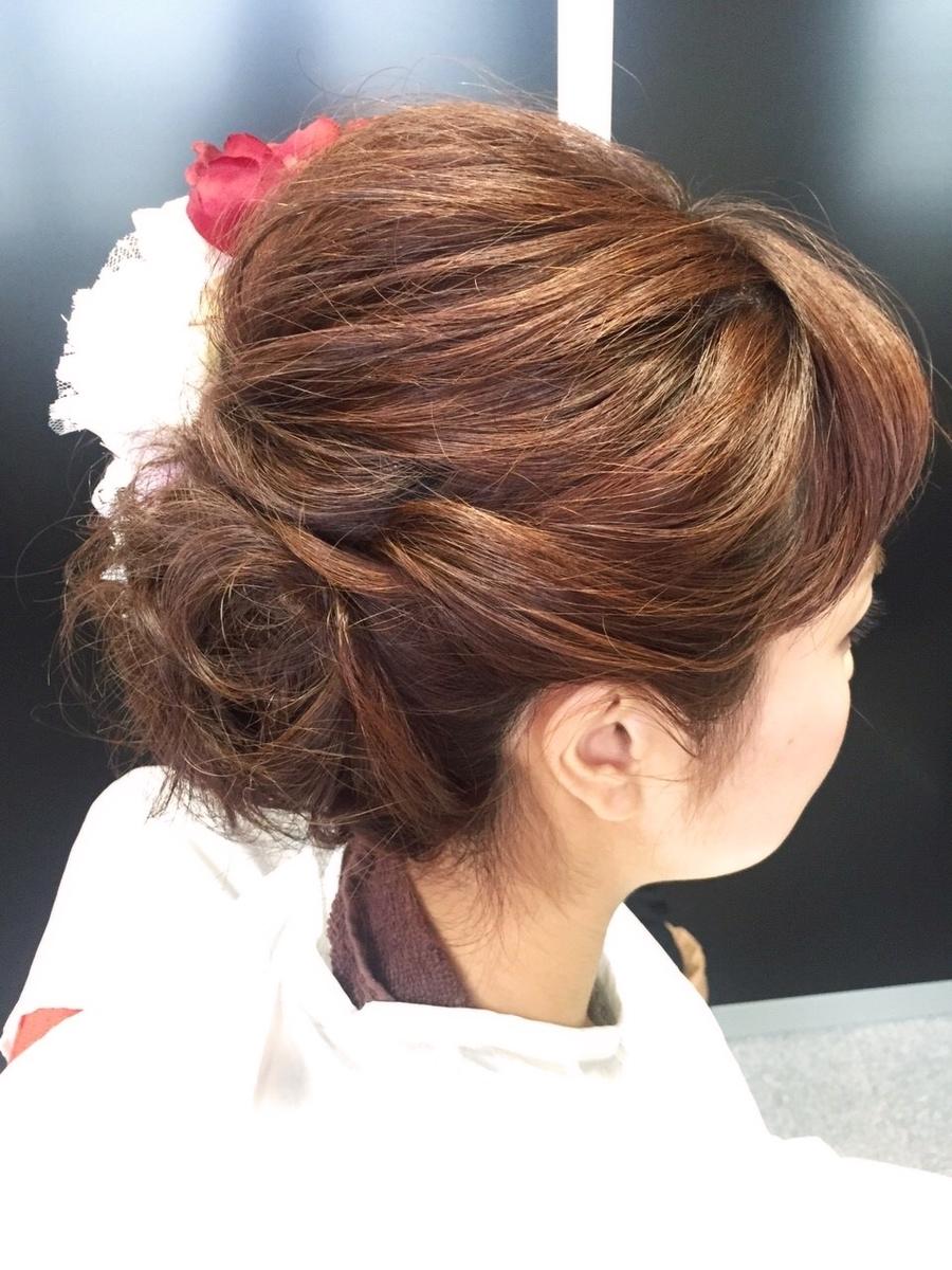 結婚式のヘアカラー