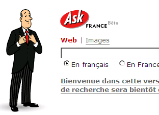 Ask Jeevesフランス