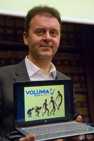 Volunia and Massimo Marchiori