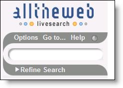 Yahoo! AlltheWeb - Livesearch