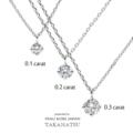 [ダイヤ一粒ネックレス][香川][高松][0.1][0.2][0.3][カラット]