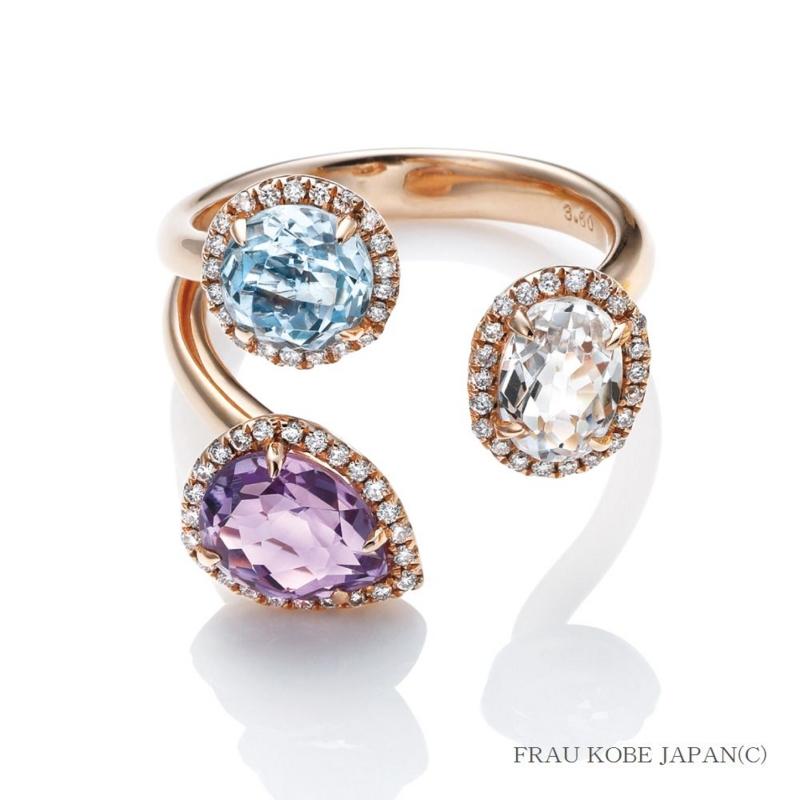 [LUCUA1100][ルクアイーレ][限定][人気][宝飾][天然石][ダイヤモンド][リング][指輪][ジュエリー]