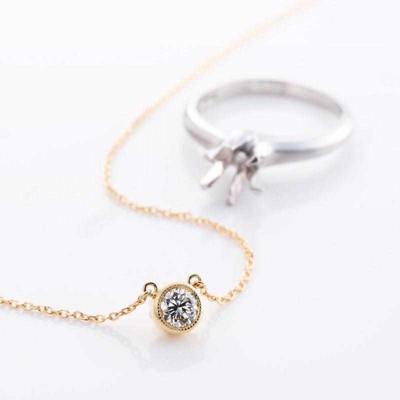 [指輪をネックレスにリ][ジュエリーリフォーム][高松]