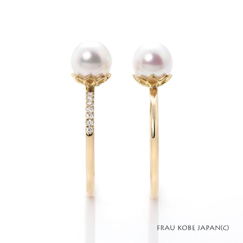 [大阪][梅田][人気][婚約指輪][エンゲージリング][アコヤ][真珠][パール][ゴールド][プラチナ]