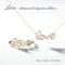 [人気][メッセージ][ジュエリー][LOVE][ネックレス][リング][ルクアイーレ][新作][ダイヤモンド]