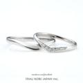[結婚指輪][高松][人気][Vライン]