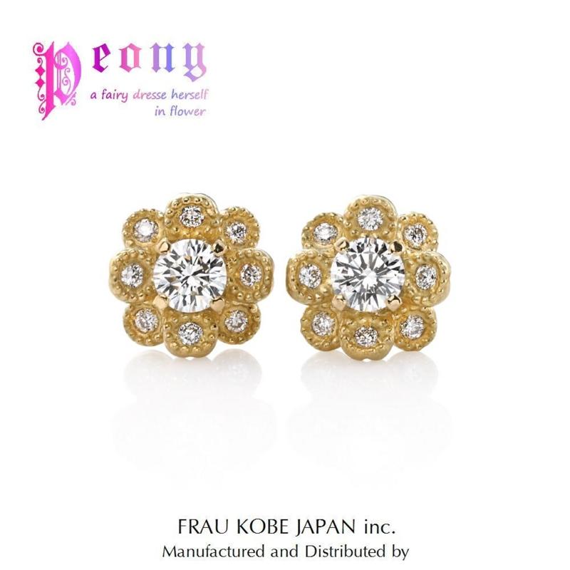 [DIAMOND][pierced][earrings]
