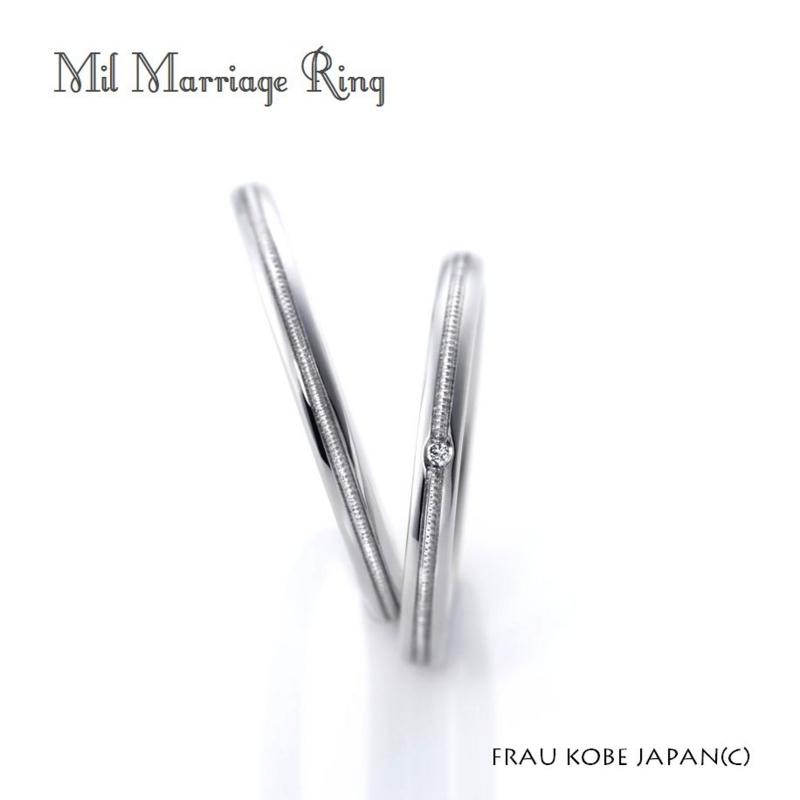 [大阪][梅田][ルクアイーレ][婚約指輪][結婚指輪][人気][プラチナ][ピンクダイアモンド][フラウ]