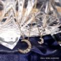 [大阪][梅田][ルクアイーレ][人気][ジュエリー][月][ネックレス][プレゼント]