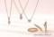 [大阪][梅田][ルクアイーレ][エンゲージリング][婚約指輪][ネックレス][人気][ダイヤモンド][プロポーズ][フラウ]