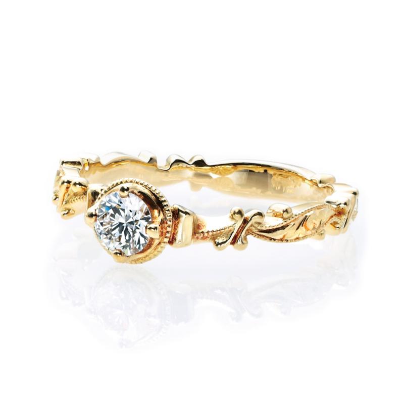 [engage][ring][antique][リング][アンティーク][婚約指輪][ダイヤ]