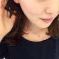 [プレゼント][ネックレス][ハート]スイングアウトダイアモンド 着用画
