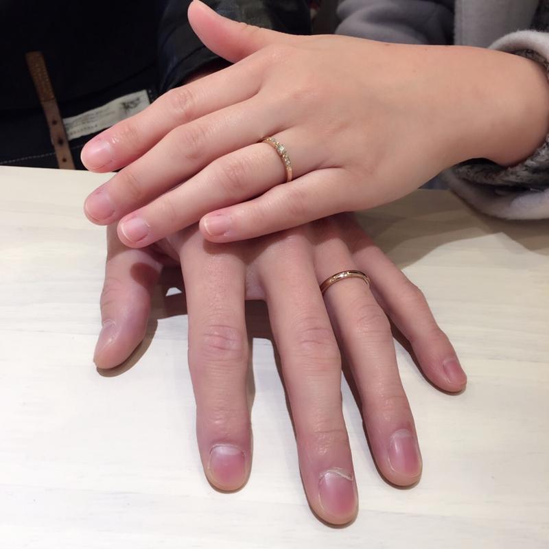 [結婚指輪][高松][先輩カップル][可愛い]